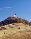 Calvary van Banska Stiavnica, Slowakije royalty-vrije stock fotografie