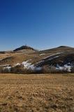 Calvary in winter, Banska Stiavnica Slovakia Stock Photos