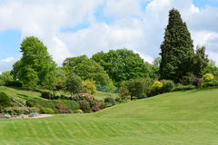 Calverleygronden - schilderachtig openbaar park in Tunbridge-Putten Royalty-vrije Stock Afbeelding