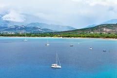 calvi可西嘉岛法国 免版税库存照片