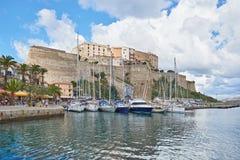 calvi可西嘉岛法国 免版税库存图片