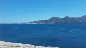 Calvi海湾 库存照片