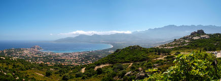 Calvi bay Stock Photo