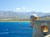 Calvi Citadel, Corsica, France Royalty Free Stock Photography