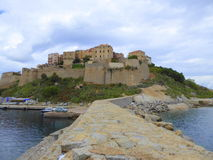 Fortification seen from seaward Stock Photography