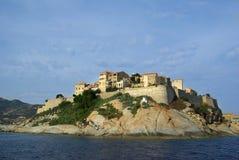 Calvi (Corsica Frankrijk) Stock Afbeelding