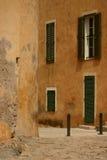 calvi corsica town arkivfoto
