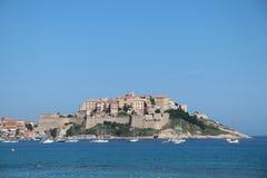 Calvi, Korsika, Frankreich Lizenzfreie Stockfotos