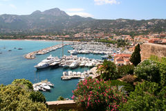 Calvi Marina. Stock Photography