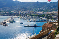 Calvi Marina Royalty Free Stock Photos