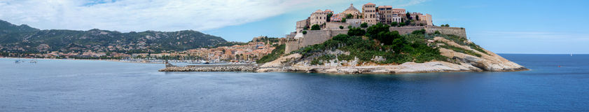 Calvi panorama Royalty Free Stock Image