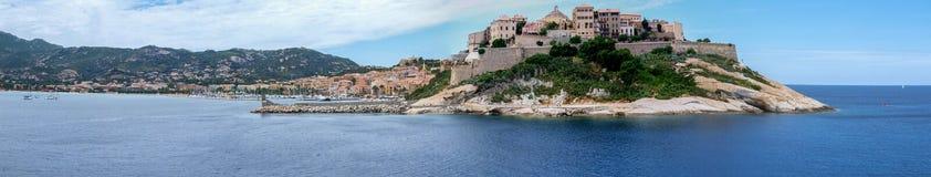 Calvi panorama Royalty Free Stock Image