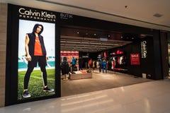 Calvin Klein в jaya subang стоковые фотографии rf
