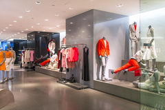 Calvin Klein Butike lizenzfreie stockfotos