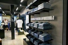Calvin Klein Jeans imagens de stock