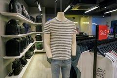Calvin Klein Jeans fotos de stock