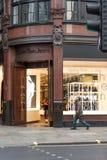 Calvin Klein Jeans en Londres, Soho imágenes de archivo libres de regalías