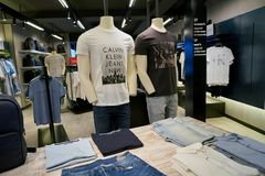 Calvin Klein Jeans Stock Images