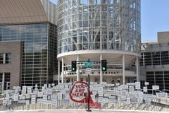 Calvin L. Rampton Salt Palace Convention Center. In Salt Lake City, Utah stock photo