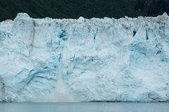 Calving Ice on Meares Glacier Royalty Free Stock Images