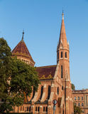 Calvinist Church in Budapest During the Day Royalty Free Stock Images