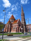 Calvinist Church in Budapest stock images