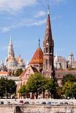 Calvinist church, budapest, hungary Stock Images