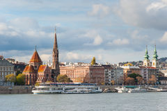 Calvinist Church in Budapest Royalty Free Stock Images