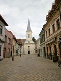 Calvinist church in Kosice. Stock Photography