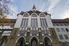 Free Calvinist College Grammar School In Kecskemet Royalty Free Stock Image - 165491456