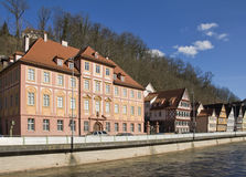 Calw Riverscape Royalty Free Stock Images