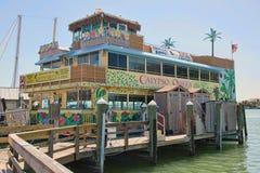Calypso Queen Tropical Buffet Cruise Stock Photo