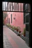 Calzada aislada Fotografía de archivo