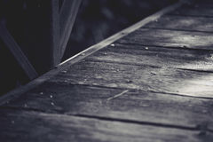 Calzada blanco y negro Imagenes de archivo