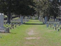 Calzada confederada del campo de batalla Foto de archivo
