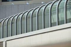 Calzada cubierta de un edificio en Portland, Oregon Fotos de archivo libres de regalías