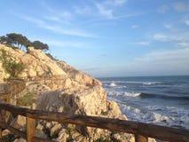 Calzada de la costa Imagen de archivo
