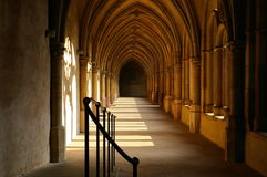 Calzada de la iglesia Foto de archivo libre de regalías