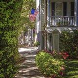 Calzada de la vecindad Fotos de archivo