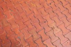 Calzada de los ladrillos del piso Fotos de archivo