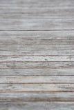 Calzada de madera del tablón Fotografía de archivo