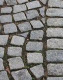 Calzada de piedra Fotos de archivo libres de regalías