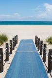 Calzada del acceso de la playa Fotografía de archivo libre de regalías