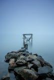 Calzada del río de la niebla Fotos de archivo