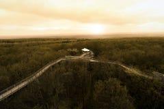 Calzada del toldo, Alemania Fotografía de archivo libre de regalías