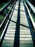 Calzada en el lago Coldwater Imagen de archivo
