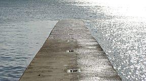 Calzada en el mar Fotografía de archivo libre de regalías