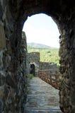 Calzada en fortaleza medieval Fotografía de archivo libre de regalías