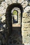 Calzada en fortaleza medieval Foto de archivo libre de regalías