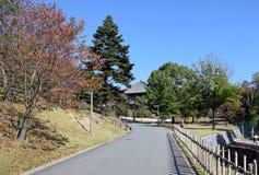 Calzada en Nara Fotografía de archivo libre de regalías